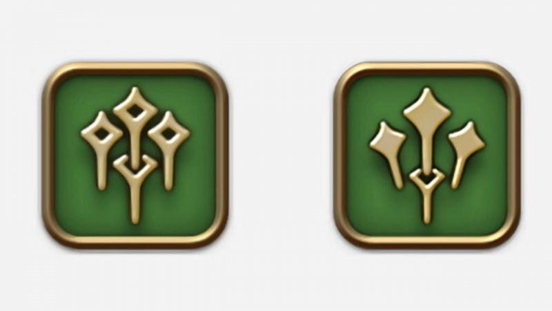 Od lewej stara i przeprojektowana ikona /materiały prasowe