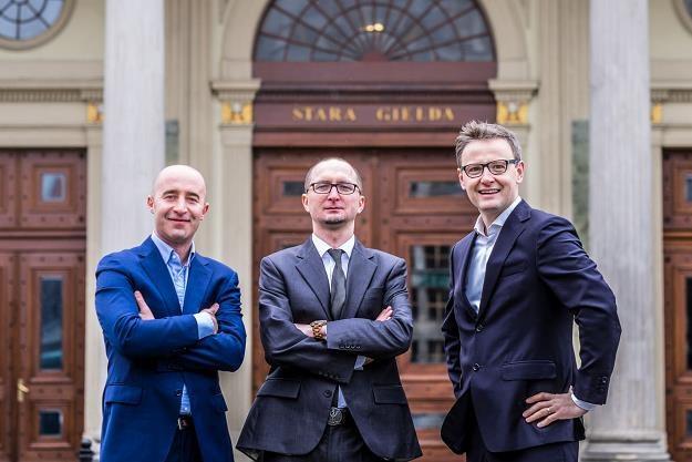 Od lewej: Wojciech Mróz, Dariusz Szczurek, Marcin Łuczyn. Fot. TestArmy Group /Informacja prasowa