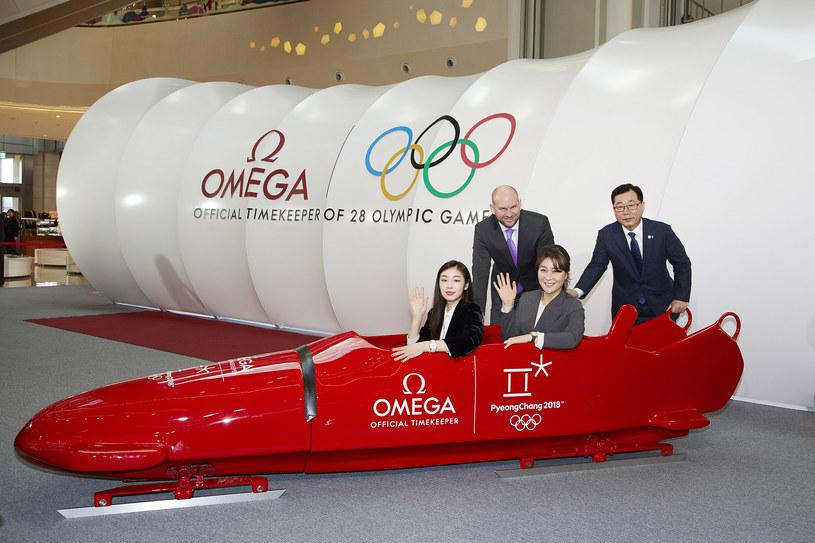 Od lewej: Yuna Kim,  Alain Zobrist, Julia Choi, Hyunchul Park /Informacja prasowa
