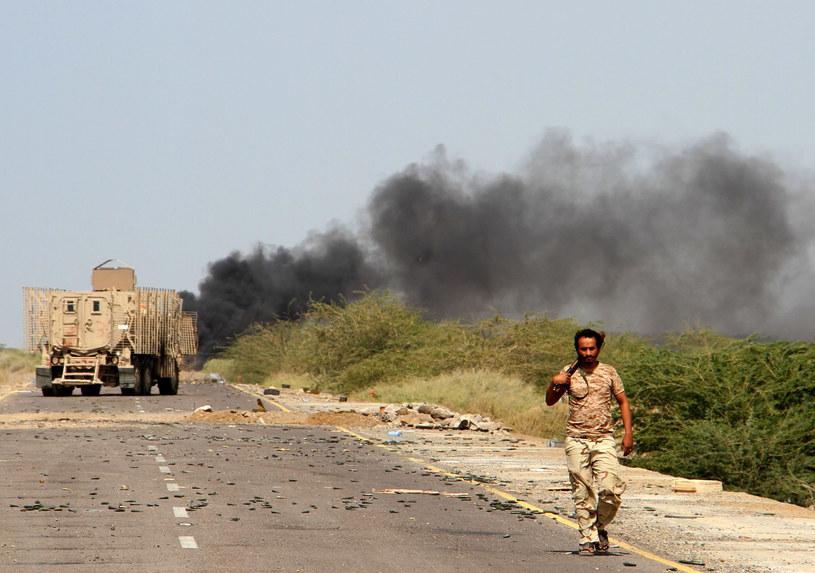Od marca 2015 roku w wojnie domowej w Jemenie zginęło nawet 10 tysięcy ludzi /Saleh Al-Obeidi /AFP