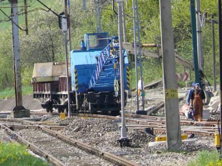 Od Międzylesia do granicy państwa prowadzono modernizację torowiska / fot. M. Bieńkowski /Euroregio Glacensis