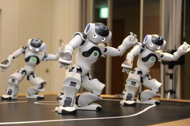 Od niedawna wszystkie roboty mają swój własny serwis społecznościowy /AFP