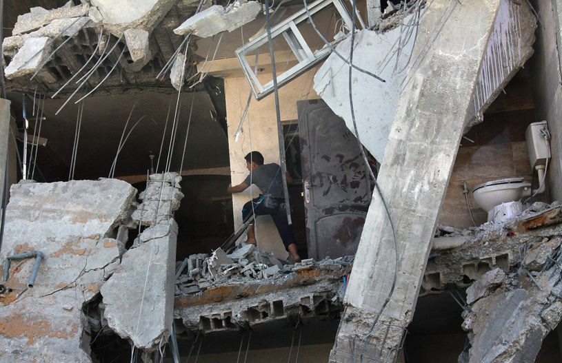 """Od początku operacji """"Obronny Brzeg"""" w Strefie Gazy zginęło ponad stu Palestyńczyków /PAP/EPA"""