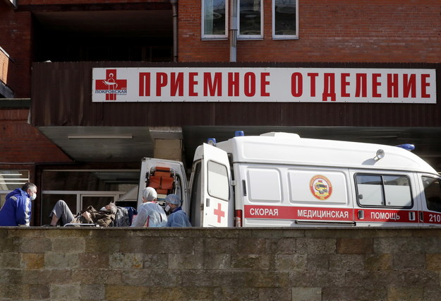 Od początku pandemii wyzdrowiało 7 346 osób, z których 579 opuściło szpitale w ciągu ostatniej doby /ANATOLY MALTSEV  /PAP/EPA
