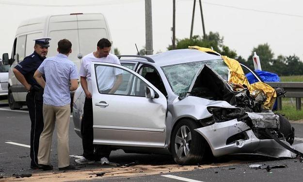 Od początku roku rośnie liczba ofiar wypadków /PAP