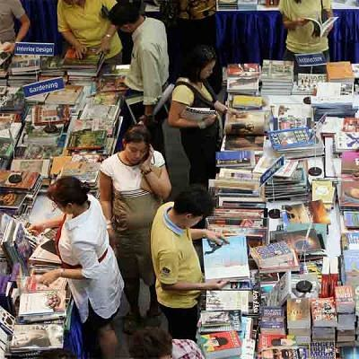 Od początku stycznia wstrzymano transakcje na rynku książki /AFP