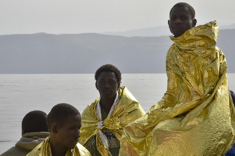 Od początku tego roku do Włoch przypłynęło ponad 16 tysięcy migrantów /ANDREAS SOLARO /AFP