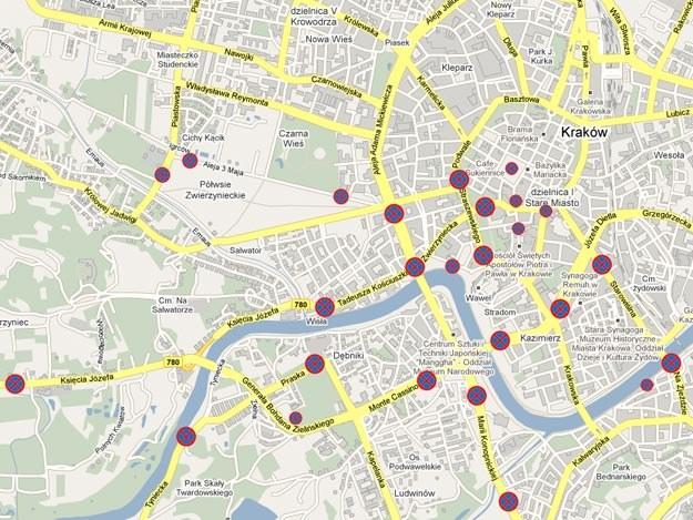 Krakow Zmiany W Ruchu Zobacz Mapy Fakty Interia Pl