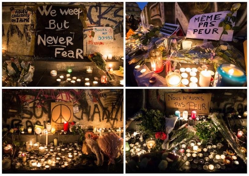 Od rana w wielu miejscach na świecie składano hołd ofiarom /PAP/EPA
