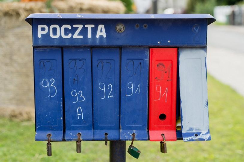 Od środy listy polecone będą doręczane przez Pocztę Polska do skrzynki /Daniel Dmitriew /Agencja FORUM