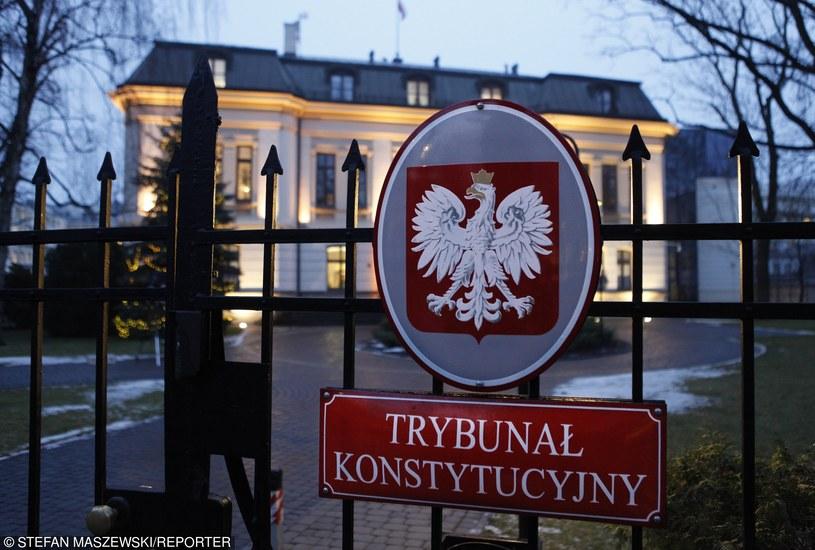 Od wielu tygodni trwa spór o Trybunał Konsytucyjny /Stefan Maszewski /Reporter