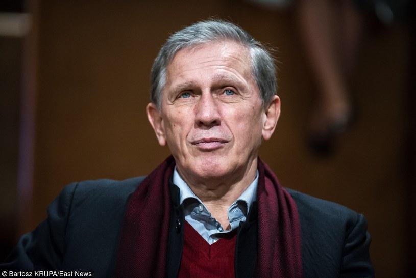 Od września 2003 roku Jan Englert jest dyrektorem artystycznym Teatru Narodowego w Warszawie /Bartosz Krupa /East News