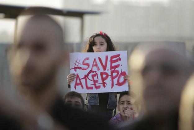 Od wtorku w Aleppo w walkach zginęło kilkadziesiąt osób /AFP