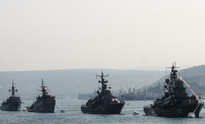 Odbywa się intensywne przemieszczanie okrętów rosyjskiej marynarki wojennej /AFP