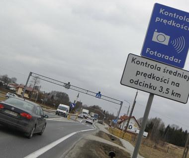 Odcinkowy pomiar prędkości na... drodze wojewódzkiej