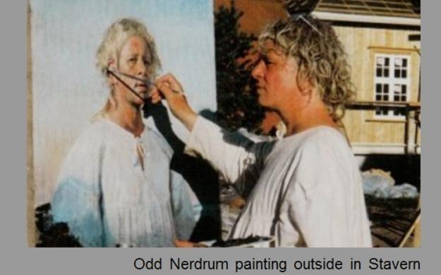 Odd Nerdrum, fot. ze strony nerdruminstitute.com /