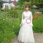 Oddał piękną suknię i zostawił tajemniczy liścik