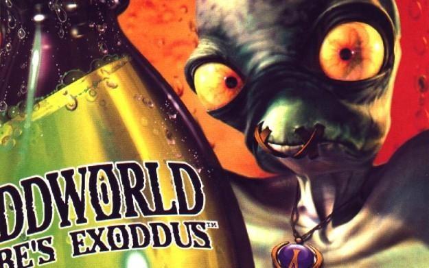 Oddworld: Abe's Exoddus - fragment okładki z gry /Informacja prasowa