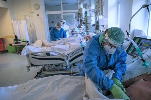 Oddział Anestezjologii i Intensywnej Terapii w szpitalu w Bochni /AA/ABACA /PAP/Abaca