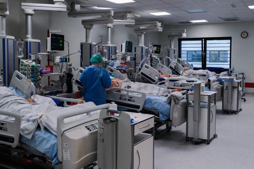 Oddział covidowy w Szpitalu Uniwersyteckim w Krakowie /Omar Marques /Getty Images