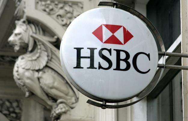 Oddział HSBC w Kings Heath, Birmingham (Anglia) /EPA