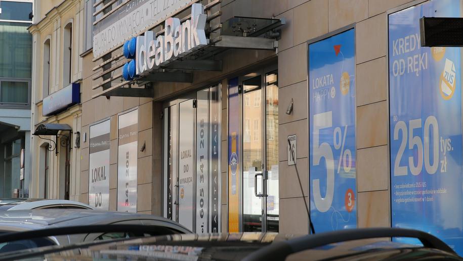 Oddział Idea Banku w Olsztynie /Tomasz Waszczuk /PAP