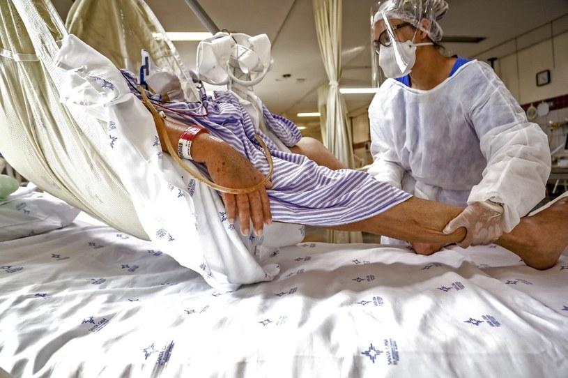 Oddział intensywnej terapii, Porto Alegre, Brazylia /AFP