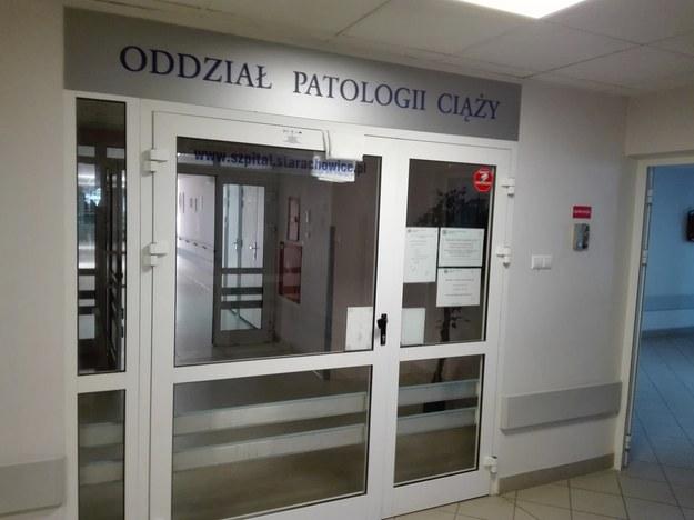 Oddział patologii ciąży w starachowickim szpitalu /Michał Michta /RMF MAXXX