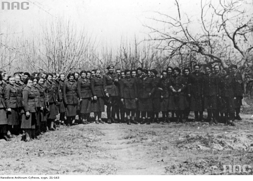 Oddział Pomocniczej Służby Kobiet w Armii Polskiej w ZSRR /Z archiwum Narodowego Archiwum Cyfrowego
