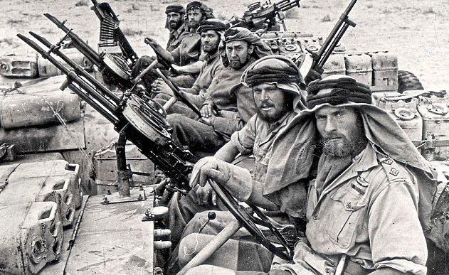 Oddziały SAS w Afryce Północnej oddały aliantom niewiarygodne wręcz usługi. To ich twórca przygotował operację zmylenia Rommla /Imperial War Museum /domena publiczna