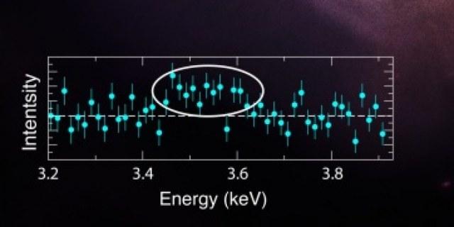 Odebrany sygnał ma energię 3,56 keV /NASA