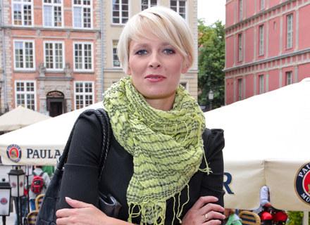 """Odeta Moro - Figurska z TVP2 przenosi się do """"Kawy czy herbaty?"""" Jedynki / fot. P. Przybyszewski /MWMedia"""
