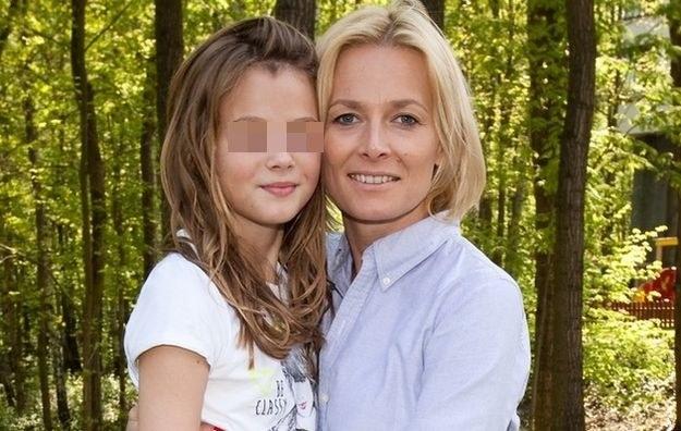 Odeta z córką /- /East News
