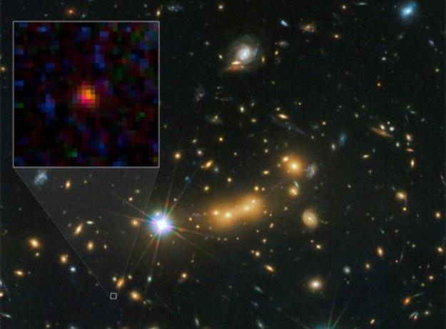 Odkrycia galaktyki MACS0647 dokonały teleskopy Hubble'a i Spitzera /NASA