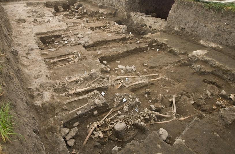 Odkrycia szkieletów w Tlatelolco rzucają nowe światło na historię Azteków /AFP
