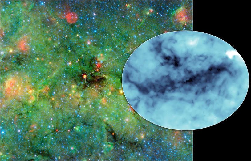 """Odkrycie """"najciemniejszego miejsca we wszechświecie"""" to zasługa Kosmicznego Teleskopu Spitzera /NASA"""