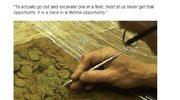Odkryto 750-kilogramowy skarb o ogromnej wartości