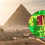 Odkryto anomalie termiczne w piramidzie Cheopsa