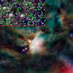Odkryto freon-40 wokół gwiazdy i komety
