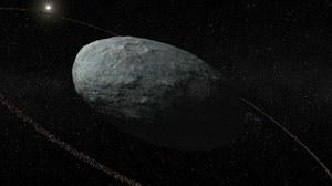 Odkryto pierwszą planetę karłowatą z pierścieniem