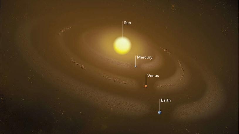 Odkryto pyłowy pierścień wokół Merkurego /materiały prasowe