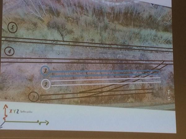 Odkrywcy znaleźli ślady dawnych torów kolejowych /Bartłomiej Paulus /RMF FM
