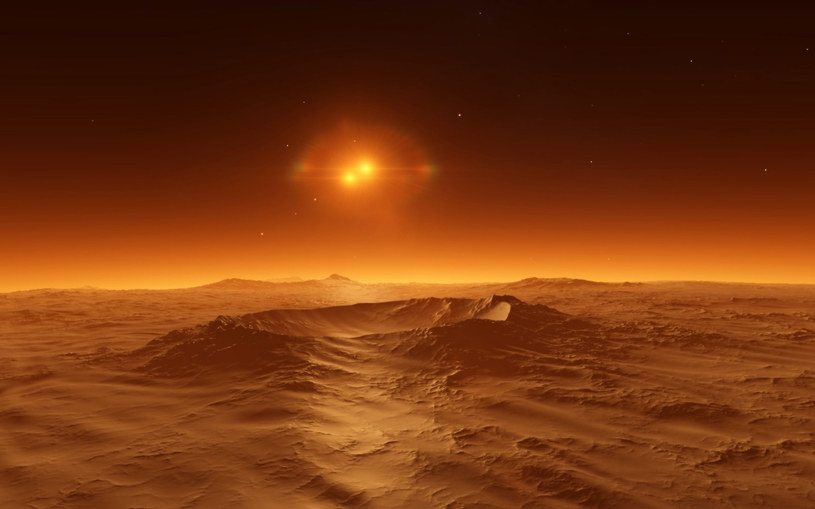 Odległość dzieląca Ziemię od Czerwonej Planety to wielkie wyzwanie dla załogowej misji kosmicznej /123RF/PICSEL
