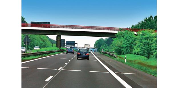 odległości na autostradzie /Motor
