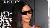 Odmieniona Kim Kardashian na imprezie
