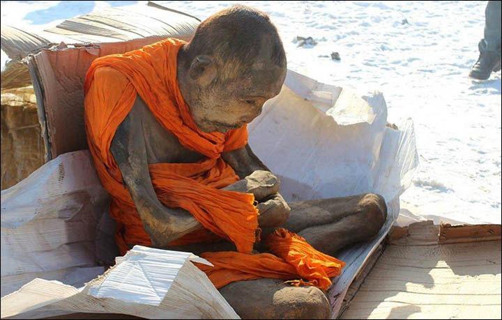 Odnaleziona w Ułan Bator mumia miała być przeszmuglowana poza granice Mongolii i tam sprzedana /materiały prasowe