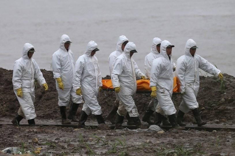 Odnaleziono 331 ciał ofiar katastrofy statku /PAP/EPA