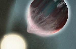Odnaleziono wodę na planecie gorętszej niż Merkury