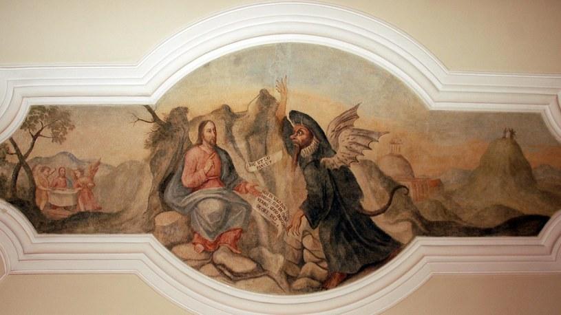 Odnowiony fresk w UM Poznań /materiały prasowe