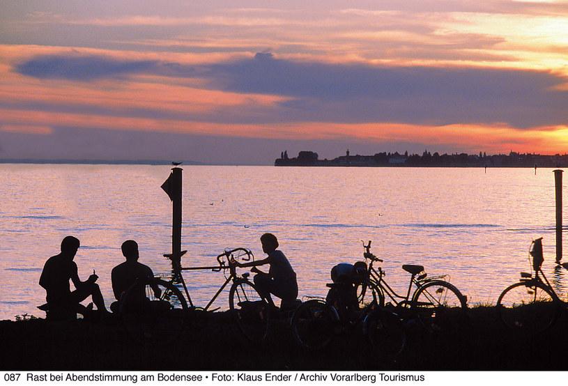 Odpoczynek przy Jeziorze Bodeńskim. Fot Klaus Ender Vorarlberg Tourismus. /materiały prasowe